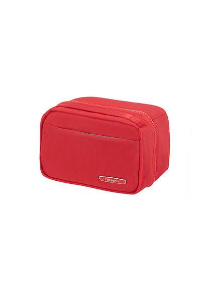 Modula Toiletry Bag True Red