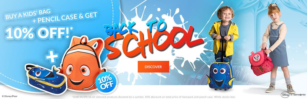Back to school Sale 2016