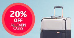 20% off all cabin cases