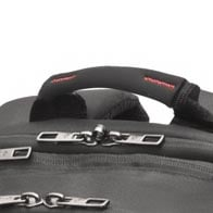 Neoprene padded handles for extra carrying comfort.