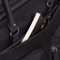 Handy external pockets for extra storage and practicality.
