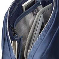 Excellent business organization plus padded laptop compartment for extra protection.
