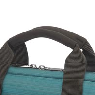 Comfortable neoprene handles for increased carrying ease.