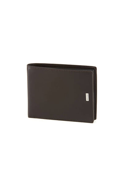 Nyx 3 Slg Wallet Dark Brown