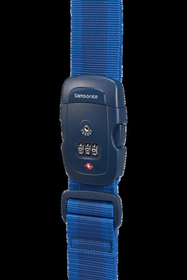 Samsonite Global Ta Luggage Strap/TSA Lock Midnight Blue