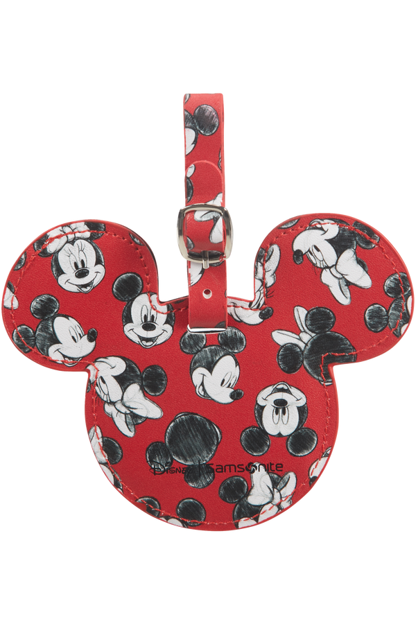 Samsonite Global Ta Disney ID Tag Disney  Mickey/Minnie Red