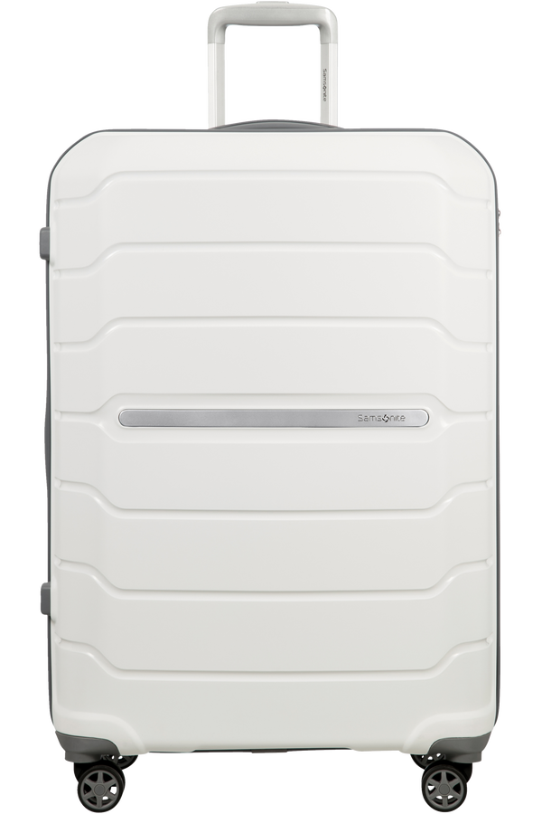 Samsonite Flux Spinner Expandable 75cm White