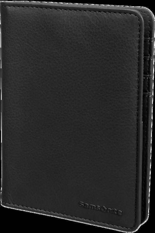 Samsonite Global Ta ID Leather Passport Cover  Black