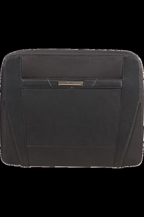 Samsonite Stationery Pro-Dlx 5 Zip Folder A4 Det B  Black