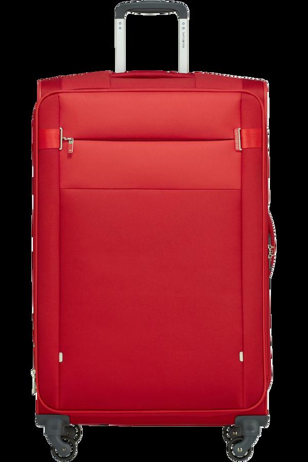 Samsonite Citybeat Spinner Expandable 78cm  Red