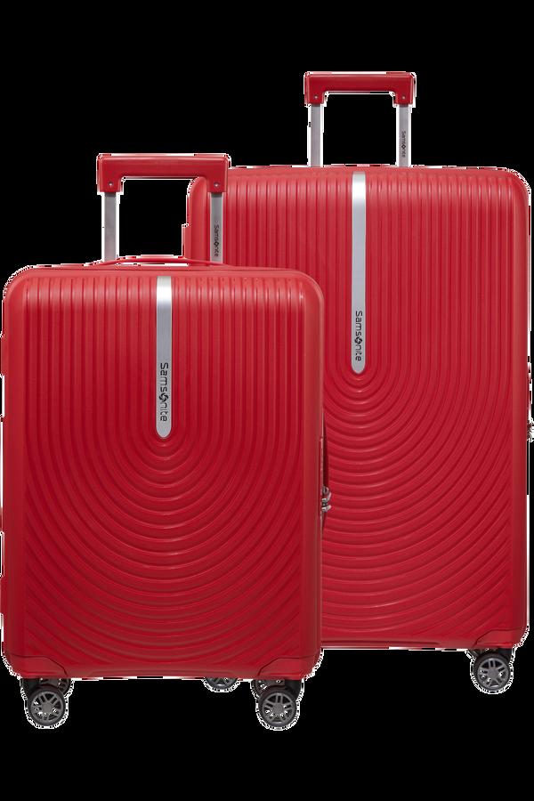 Samsonite Hi-Fi 2 PC Set A  Red
