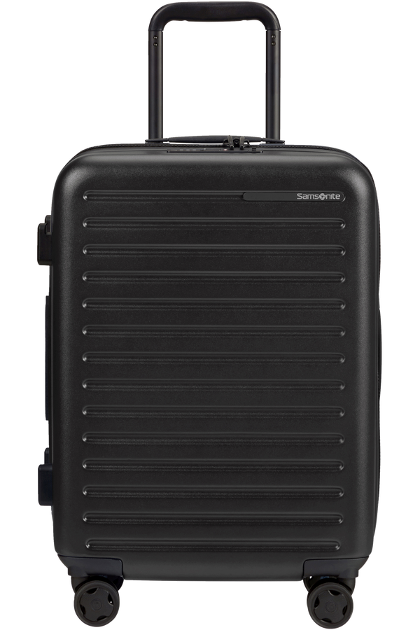 Samsonite Stackd Spinner Expandable 55cm  Black