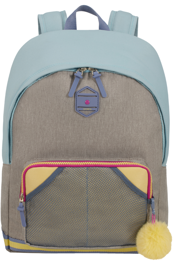 Samsonite Sam School Spirit Backpack L  Preppy Pastel Blue