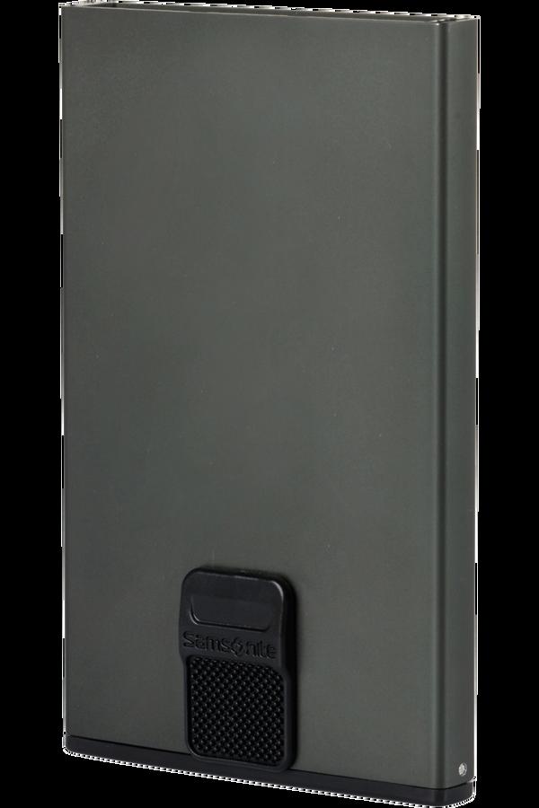Samsonite Alu Fit 201 - Slide-up Case  Anthracite