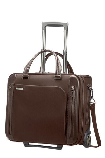 Business Tech Rolling laptop bag Dark Brown