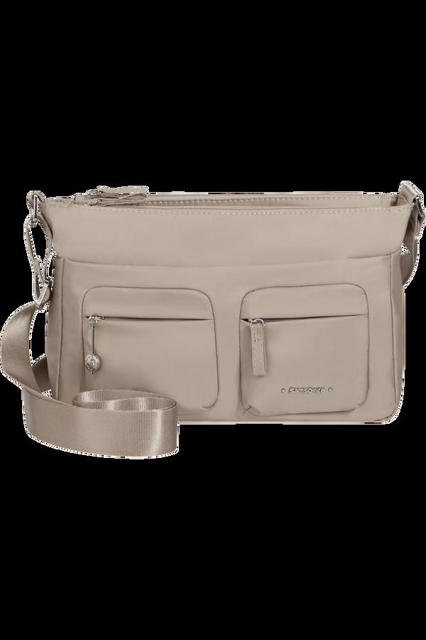 Samsonite Move 3.0 Horizontal Shoulder Bag+Flap  Light grey