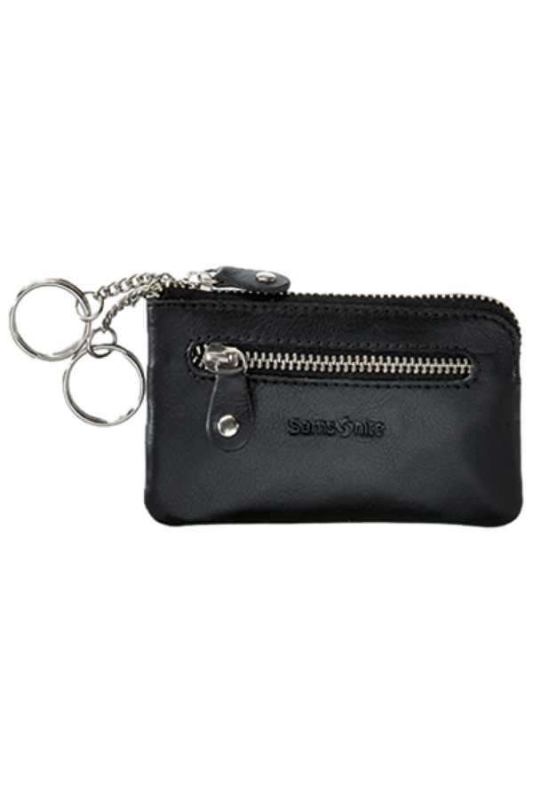 Samsonite Attack SLG Zip Key Pouch Flat 2 R Black
