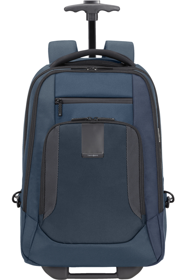 Samsonite Cityscape Evo Laptop Backpack with Wheels  15.6inch Blue