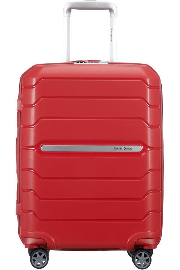 Samsonite Flux Spinner Expandable 55cm  Red