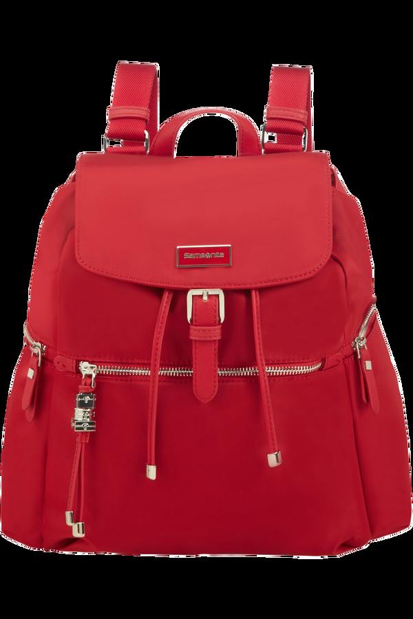 Samsonite Karissa Backpack 3 Pockets + 1 Buckle  Formula Red