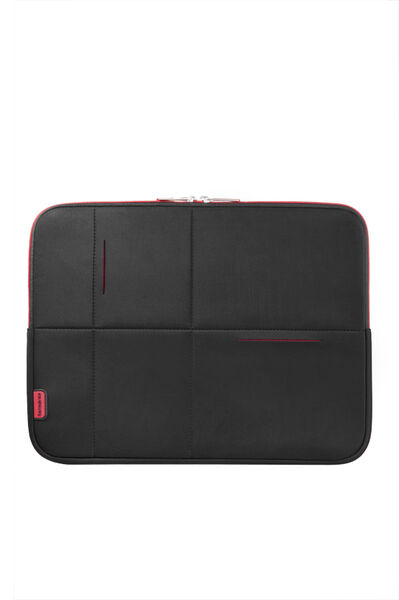 Airglow Sleeves Laptop Sleeve Black/Red