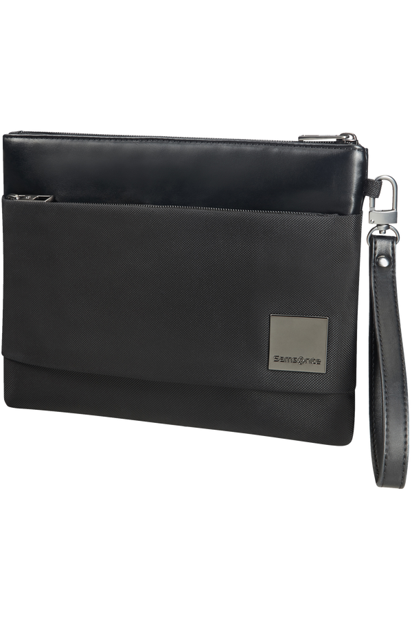 Samsonite Hip-Square Flat Tablet Clutch M 20cm/7.9inch Black