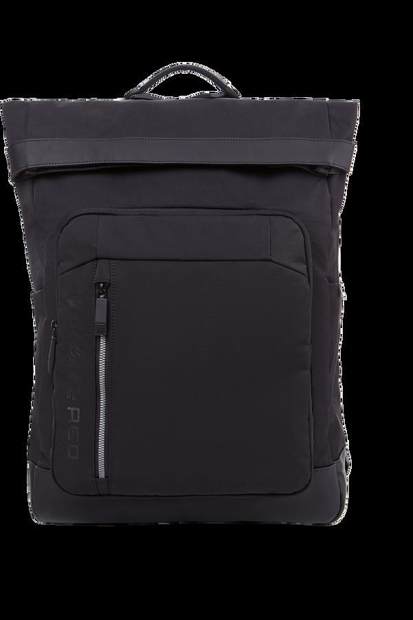 Samsonite Ruon Flap Backpack  Black