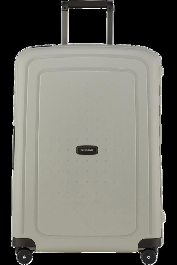 Samsonite S'cure Eco Spinner Post Consumer 69cm Green Grey