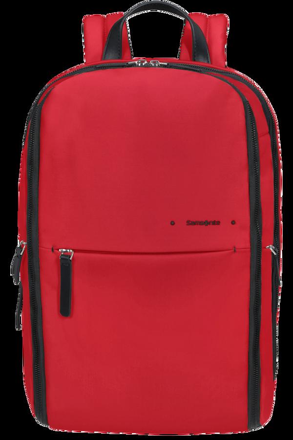 Samsonite Overnite Daytrip Backpack + SH.Comp  Classic Red