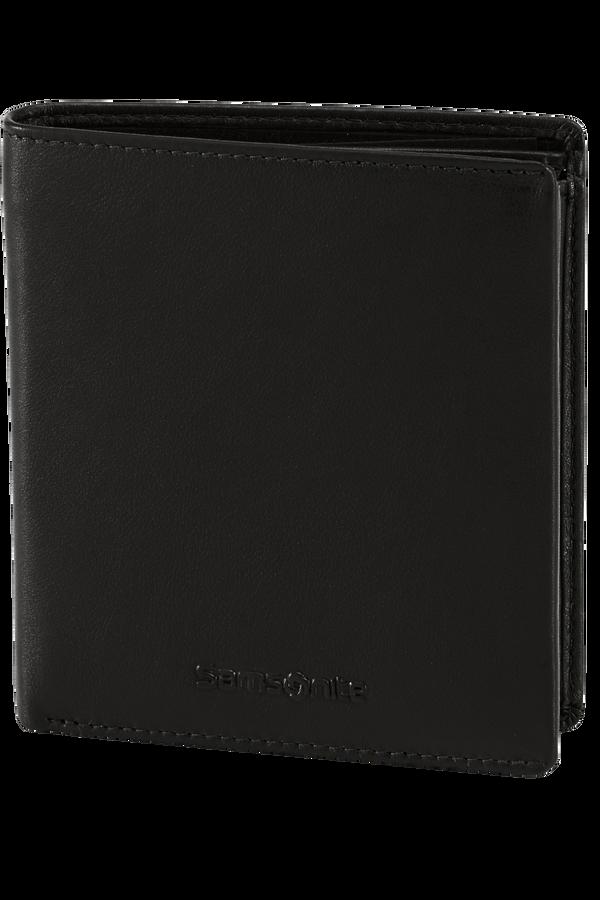 Samsonite Success Slg Wallet S 5cc + HFlap + Coin + 2C  Black