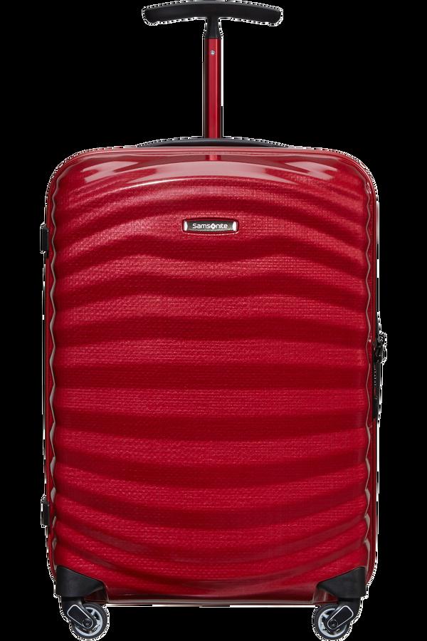 Samsonite Lite-Shock Sport Spinner 55cm  Bright Red/Silver