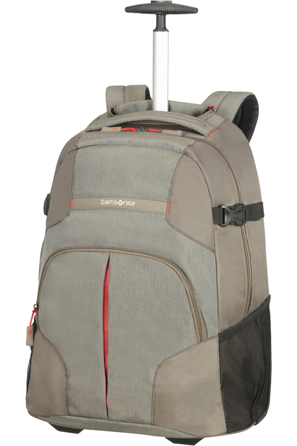 Samsonite Rewind Laptop Backpack with Wheels 40.6cm/16inch Taupe