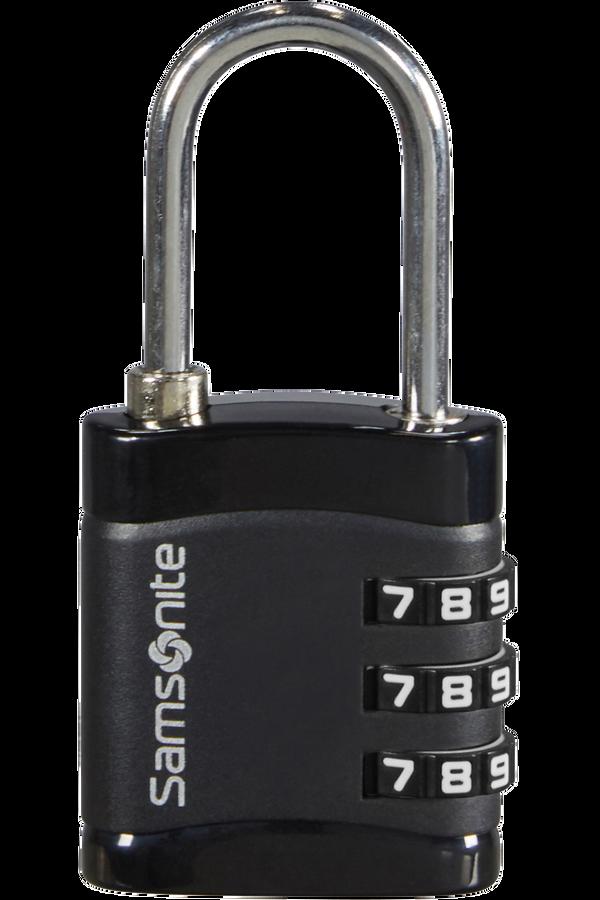 Samsonite Global Ta Combilock 3 dial light Black