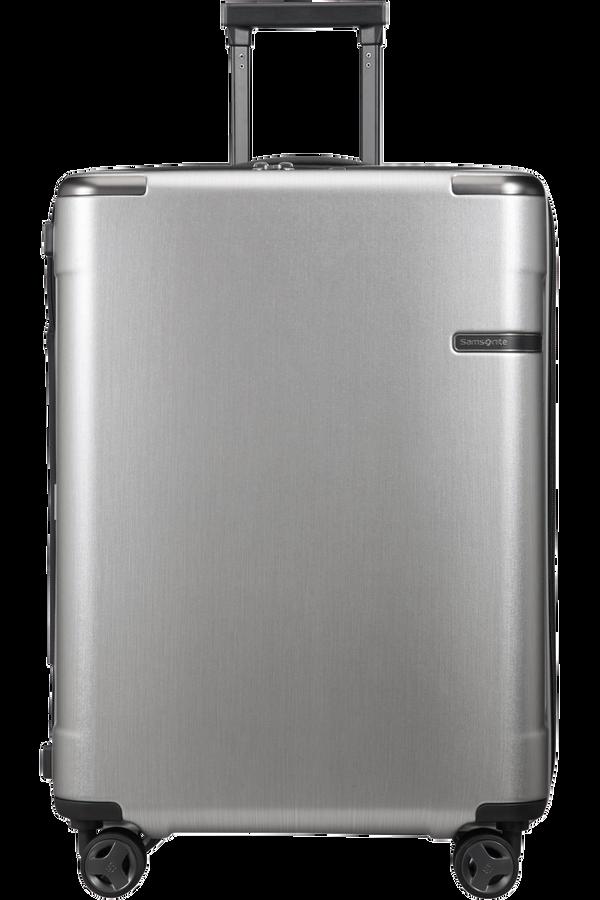 Samsonite Evoa Spinner Expandable 75cm  Brushed Silver