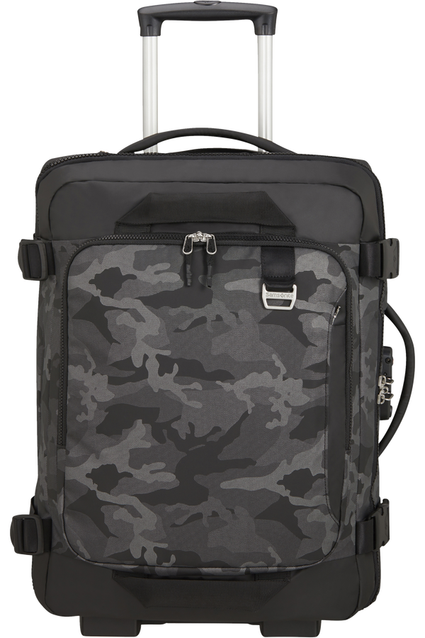 Samsonite Midtown Duffle/Backpack with wheels 55cm  Camo Grey