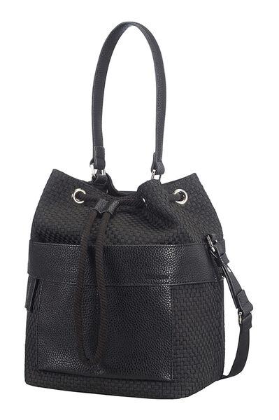 Weave Handbag Black
