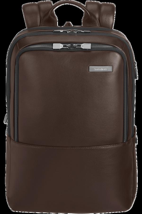 Samsonite Safton Lth Laptop Backpack 2c  15.6inch Brown