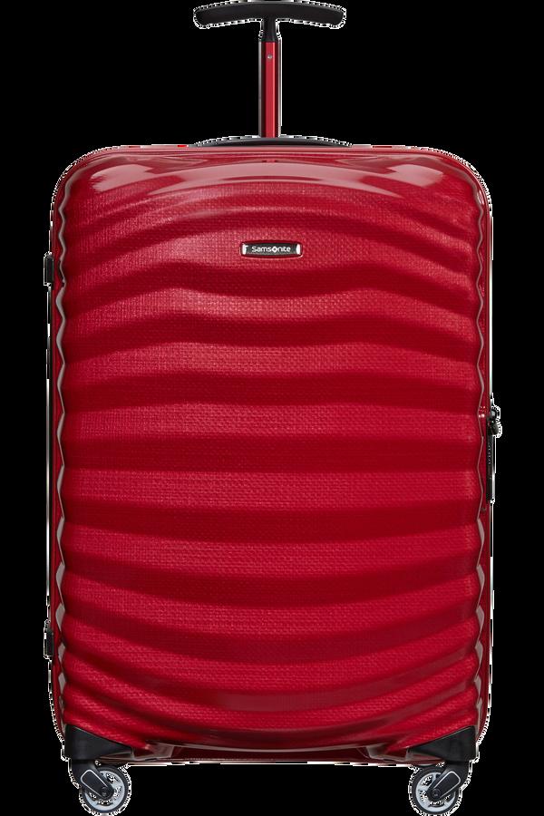 Samsonite Lite-Shock Sport Spinner 69cm  Bright Red/Silver