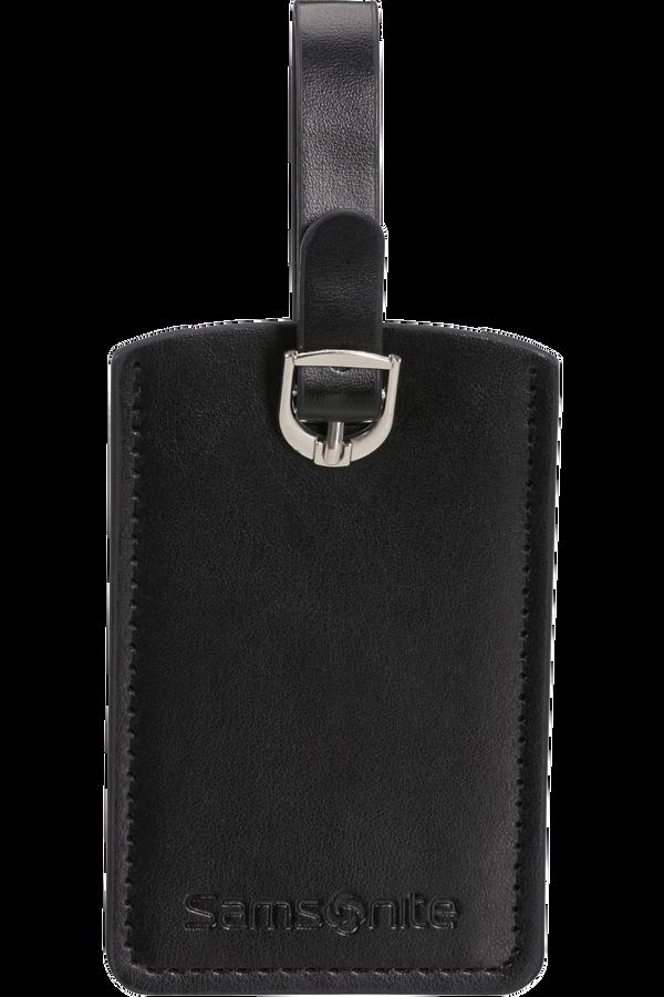 Samsonite Global Ta Rectangle Luggage Tag x2 Black