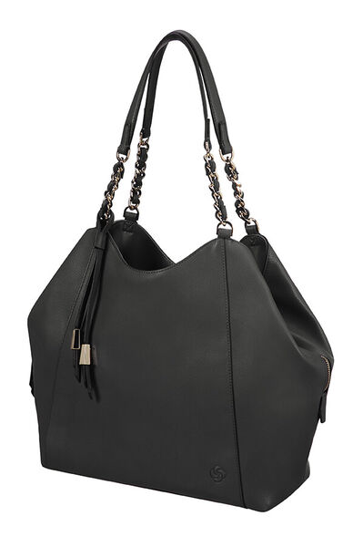 Satiny Hobo bag