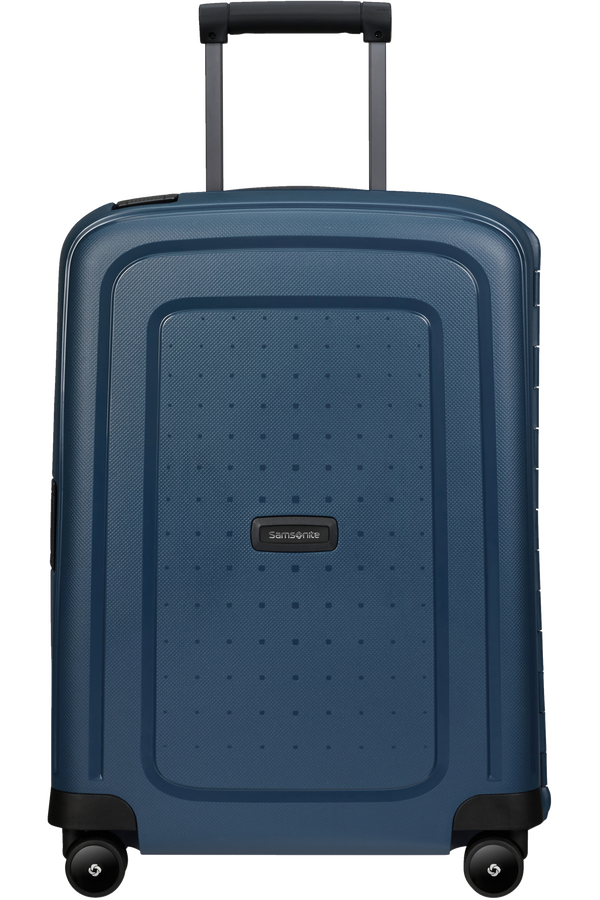 Samsonite S'cure Eco Spinner Post Consumer 55cm  Navy Blue