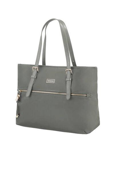 Karissa Shopping bag M Gunmetal Green