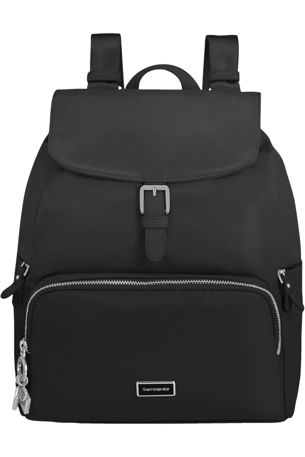 Samsonite Karissa 2.0 Backpack 3 Pockets 1 Buckle  Black