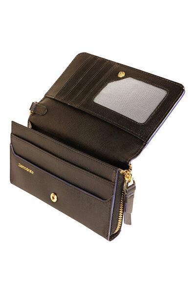 Lady Saffiano II SLG Wallet