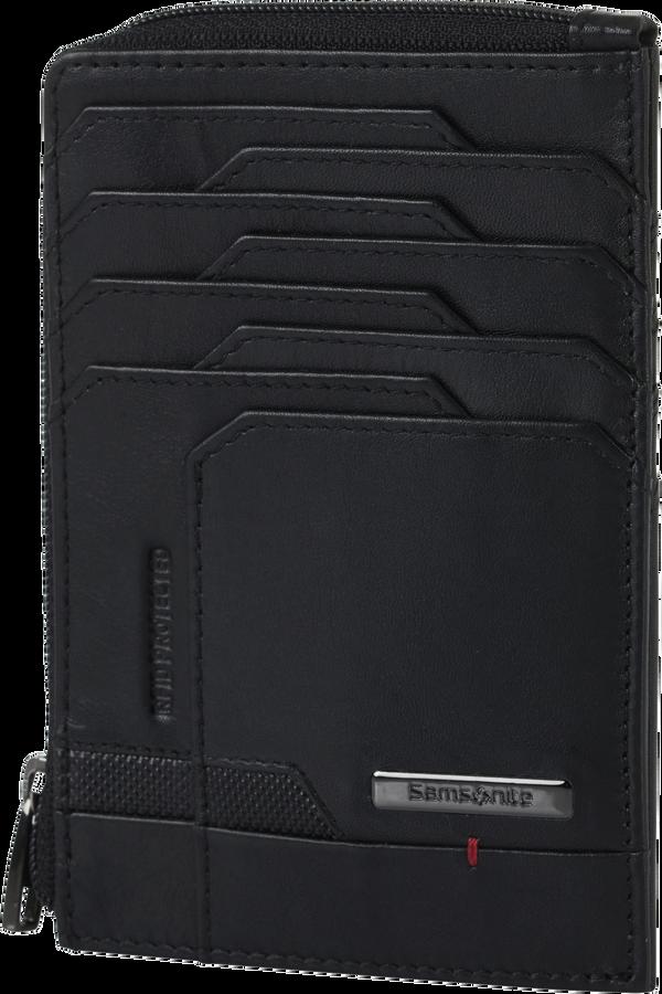 Samsonite Pro-Dlx 5 Slg 727-All in One Wallet Zip  Black