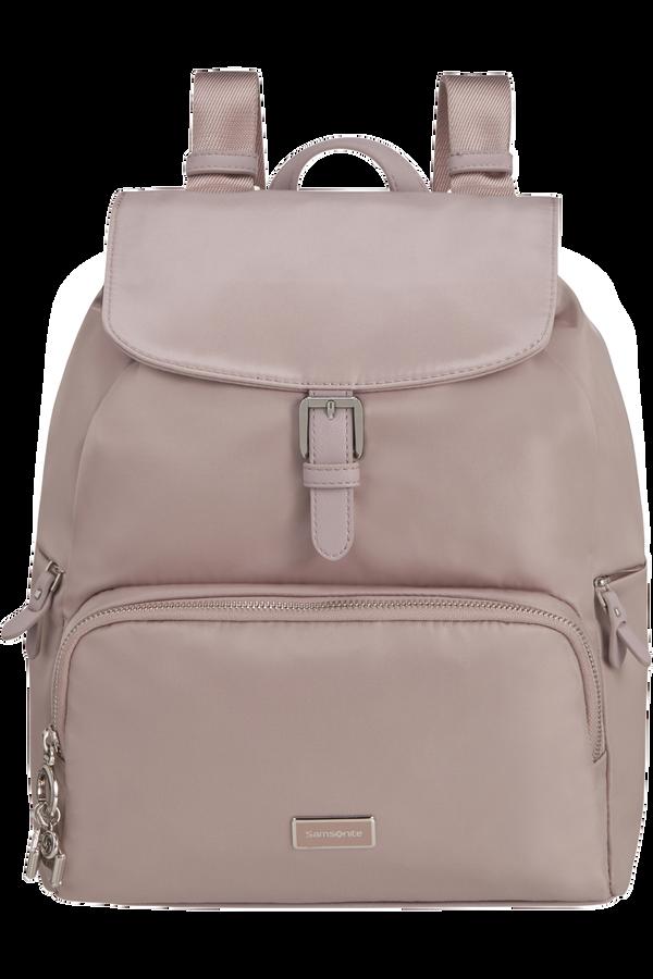 Samsonite Karissa 2.0 Backpack 3 Pockets 1 Buckle  Stone Grey