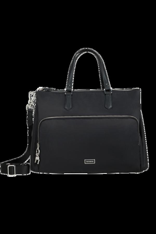 Samsonite Karissa Biz 2.0 Org. Shopping Bag 3 Comp.  14.1inch Black