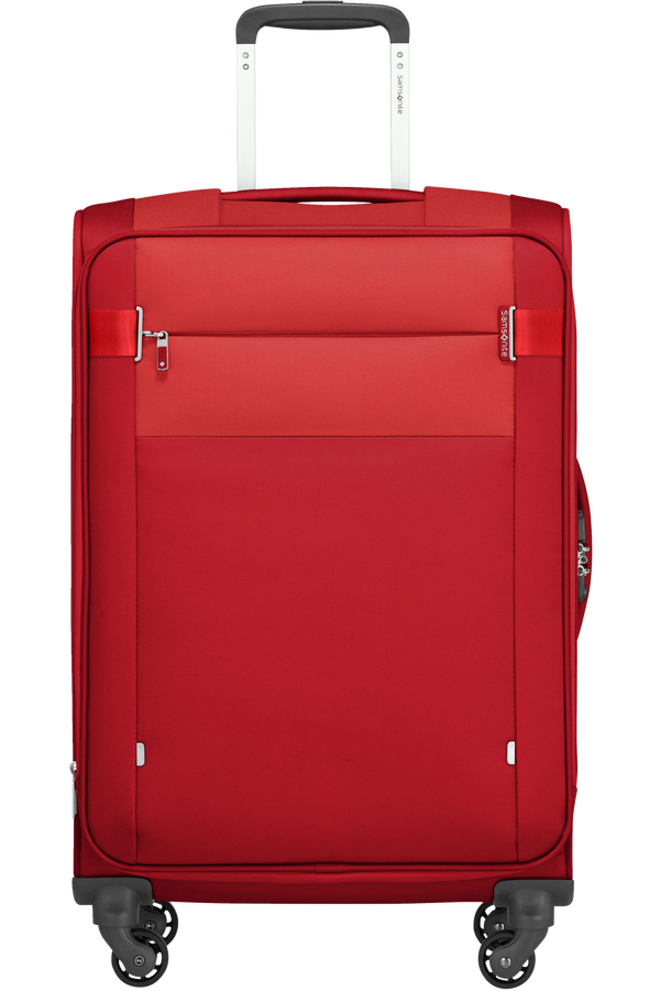 Samsonite Citybeat Spinner Expandable 66cm  Red