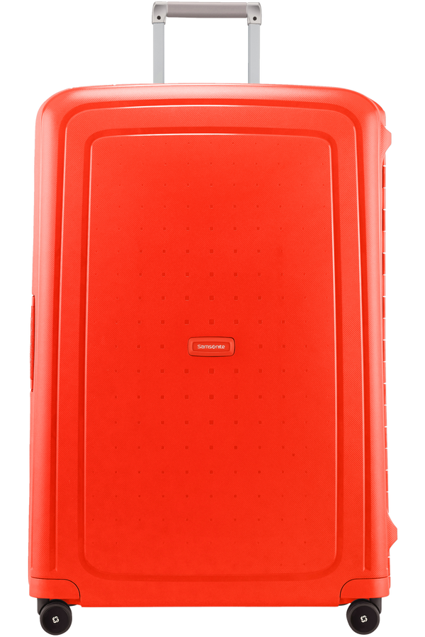 Samsonite S'Cure Spinner 81cm  Fluo Red Capri