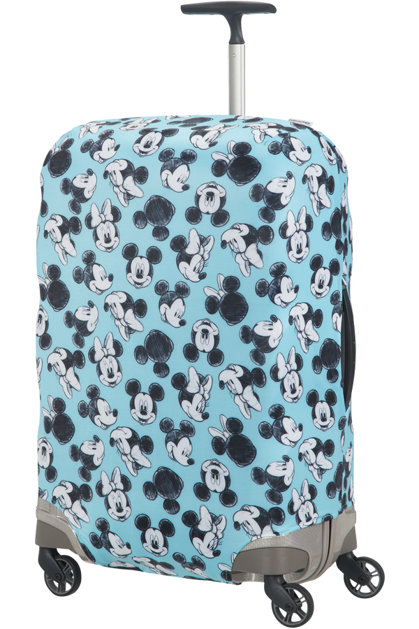 Samsonite Global Ta Disney Lycra Cover Disney M Mickey/Minnie Blue